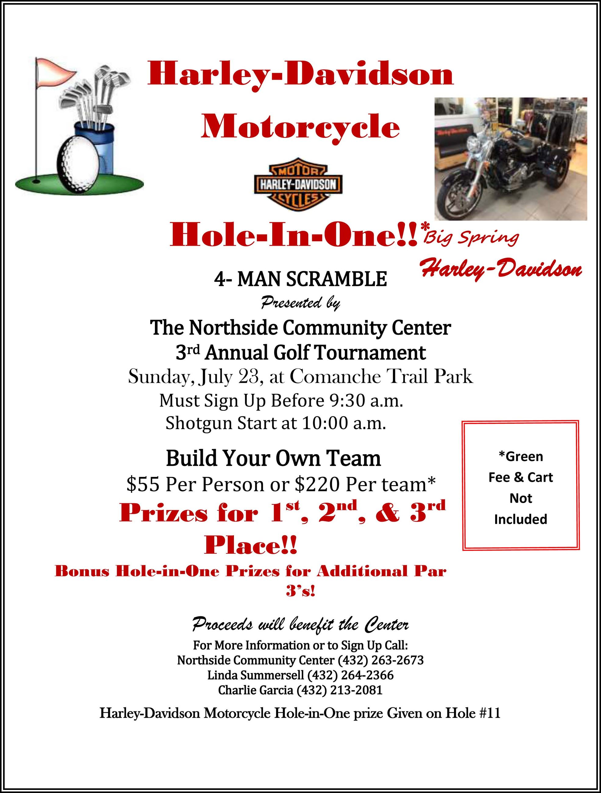 Golf Tournament Flyer-1