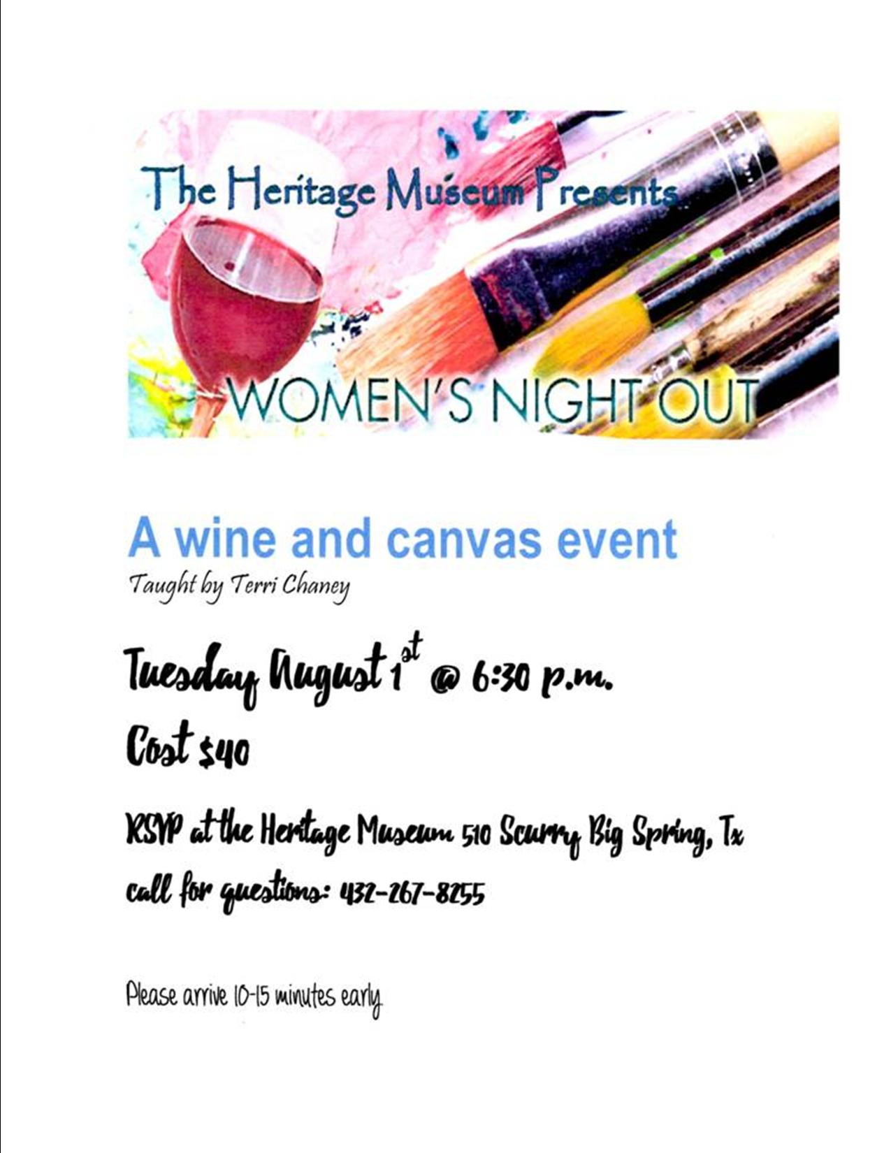 wine and canvas heritage museum