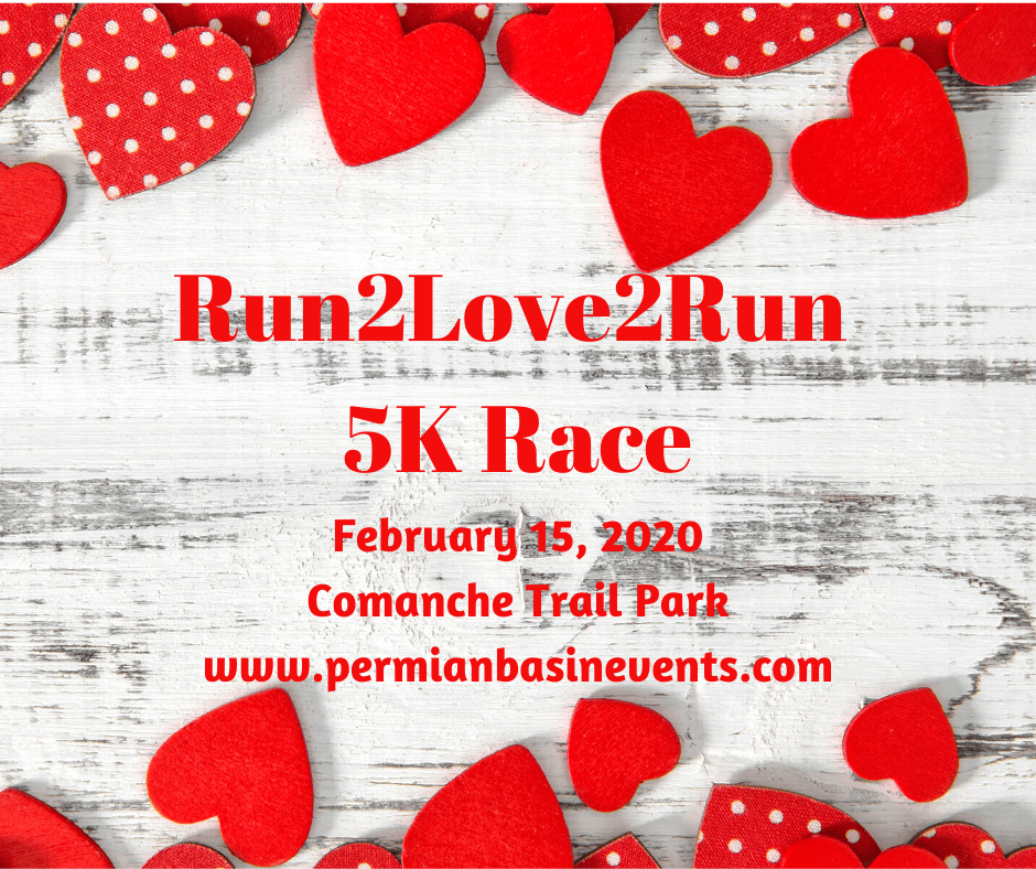 Run2Love2Run 5K Race February 15, 2020