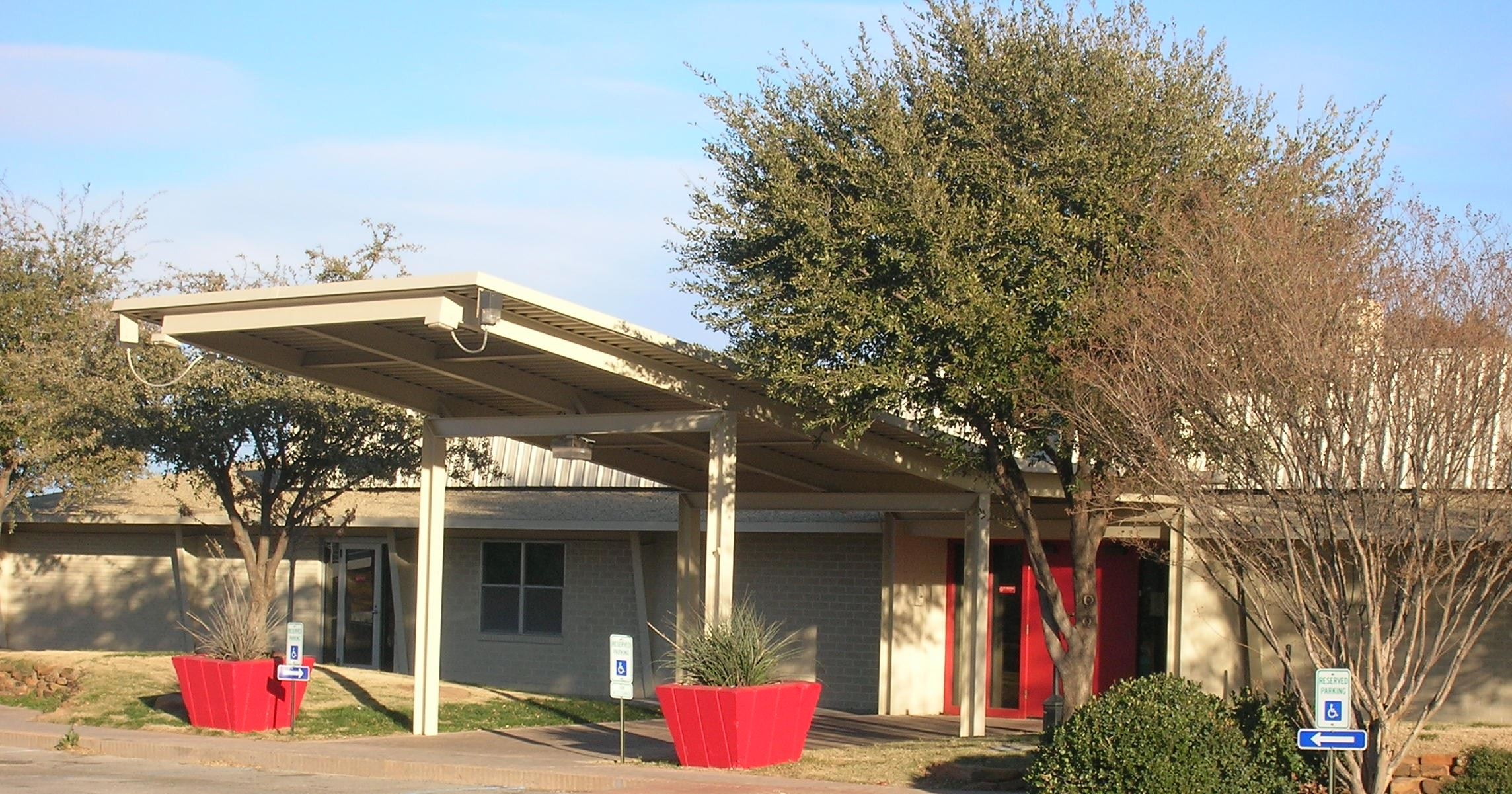 Dora Roberts Community Center Entrance