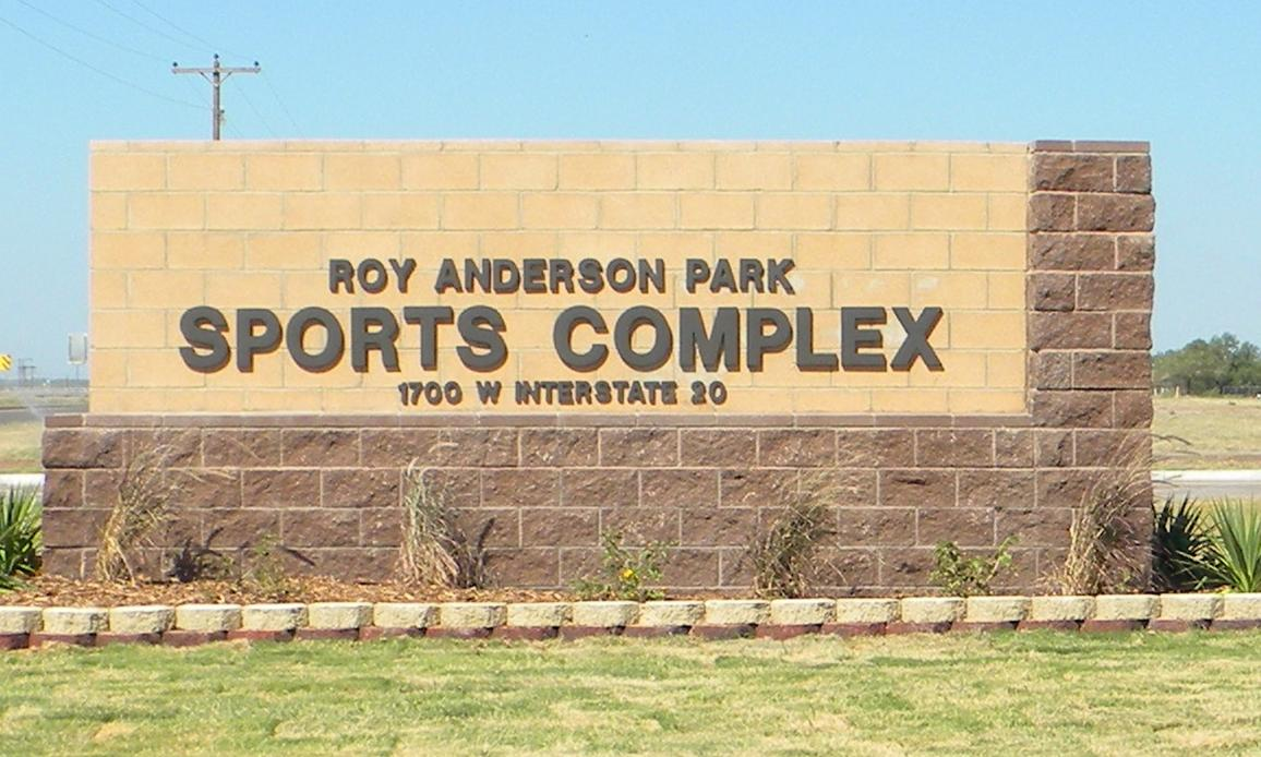 Roy Anderson Sports Complex Sign